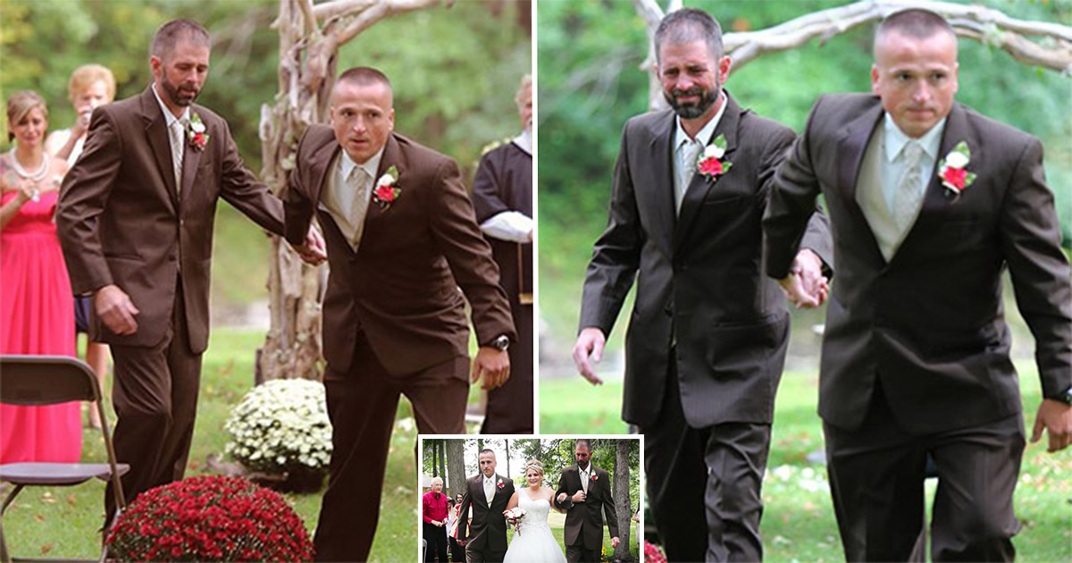 4ec8db8eb84ac 6.jpg - Bride And Her Two Dads Created A Heartwarming Moment At Her Wedding