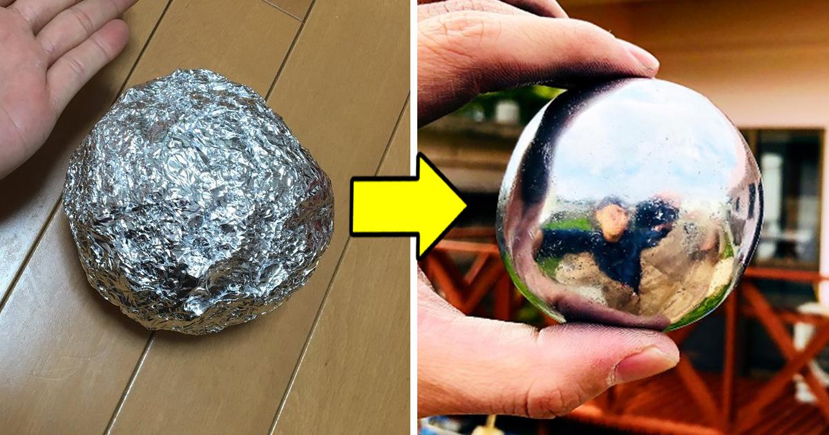 9 1.jpg - Aprenda a fazer uma bola de ferro com papel alumínio!