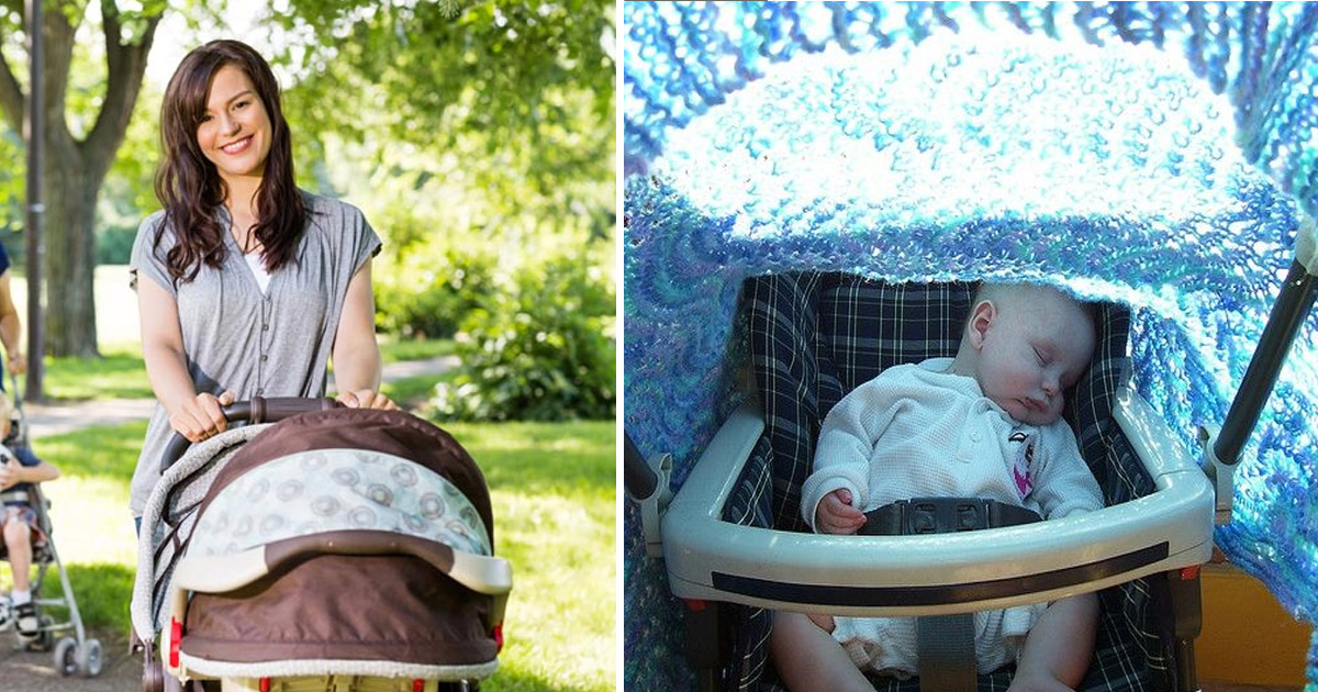 baby 5.jpg - Covering Your Baby's Stroller With A Blanket Can Be Harmful For Your Child