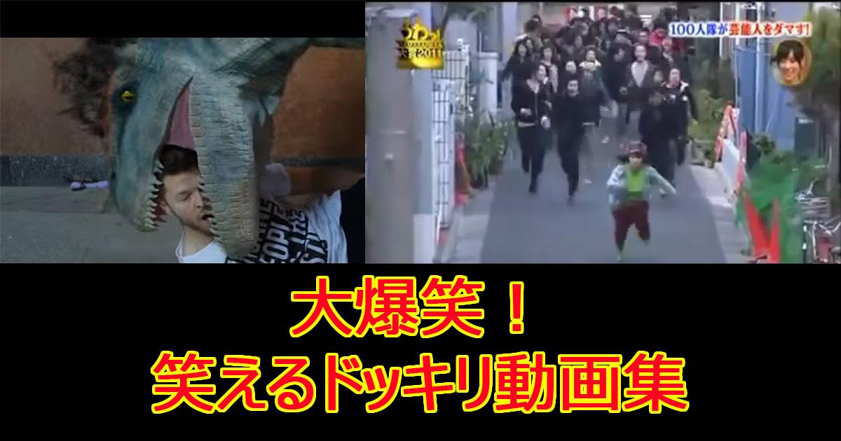 dokkiridouga.jpg - 【爆笑】あなたは笑わずにいられる⁉おもしろドッキリ動画集