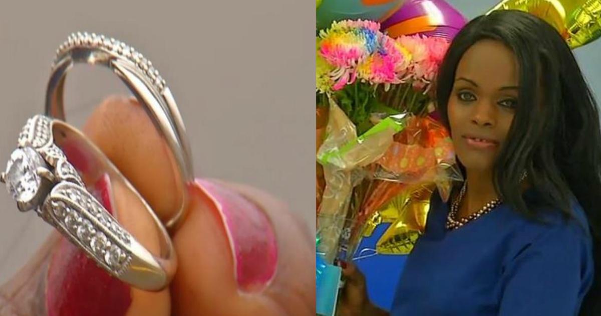 lost rings.jpg - Une femme est récompensée pour avoir rendu des alliances perdues qu'elle a trouvées à l'extérieur de Walmart