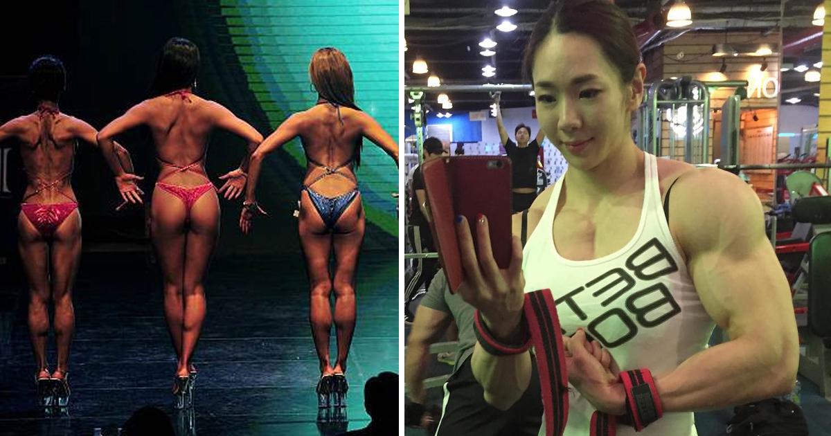 muscle.jpg - 女性ボディビル選手は美人が多い!?