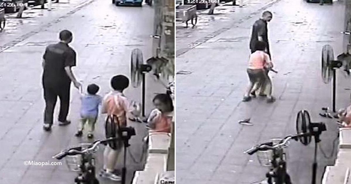 cover22cama.jpg - Un extraño intentó secuestrar a un niño mientras jugaba en la calle con sus hermanos, pero todo fue captado por una cámara de seguridad