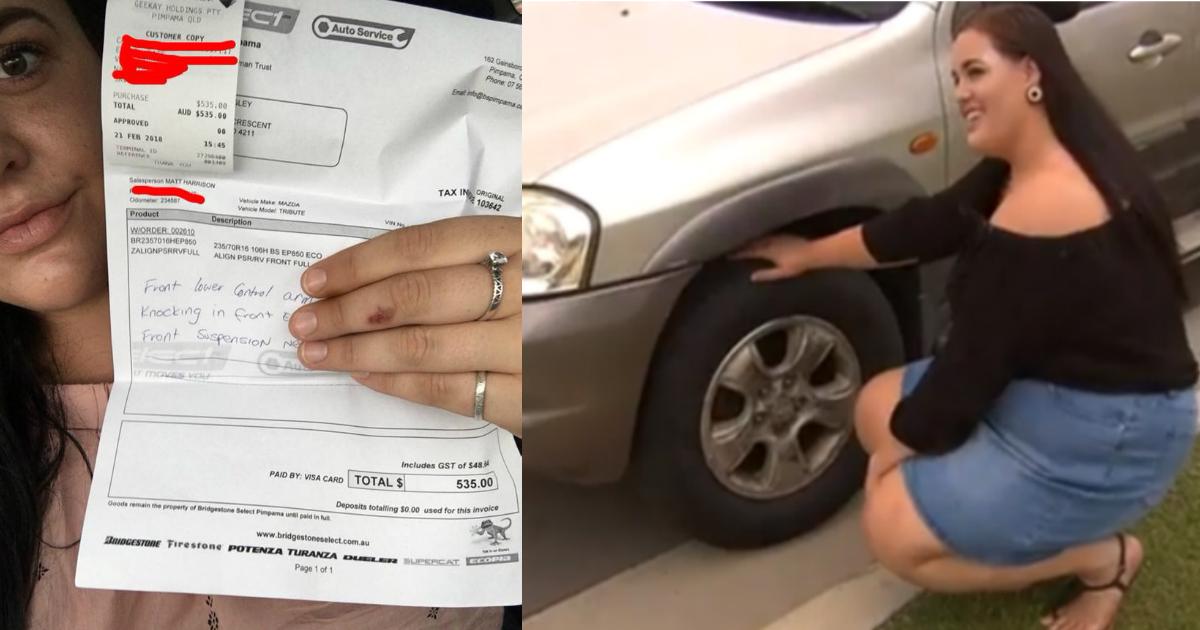 stranger help.jpg - Un étranger demande à une dame sur le parking du McDonald's de le suivre et l'aide généreusement