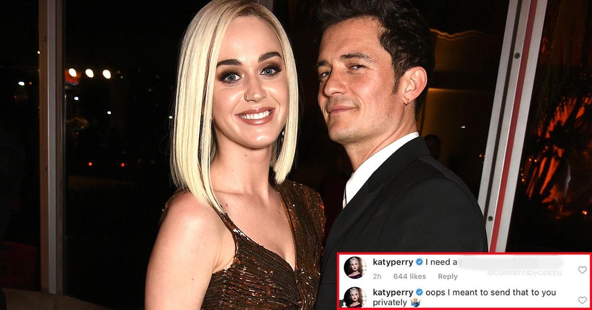 11 7.jpg - Katy Perry acidentalmente deixou um comentário muito atrevido no Instagram de Orlando Bloom