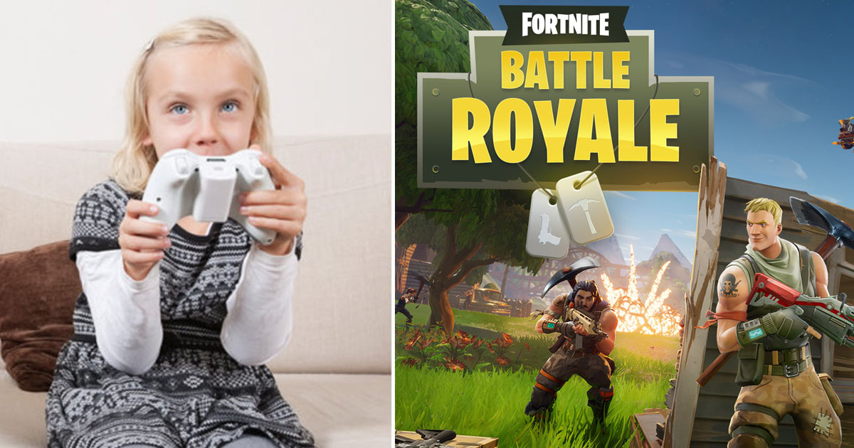fortnite.jpg - A Nine-year-old Girl Sent To Rehab For Her Fortnite Video Game Addiction