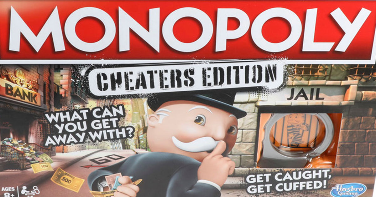 monopoly unveils an edition that is made specifically for cheaters.jpg - Monopoly Unveils The Newest Edition That Is Made Specifically For Cheaters