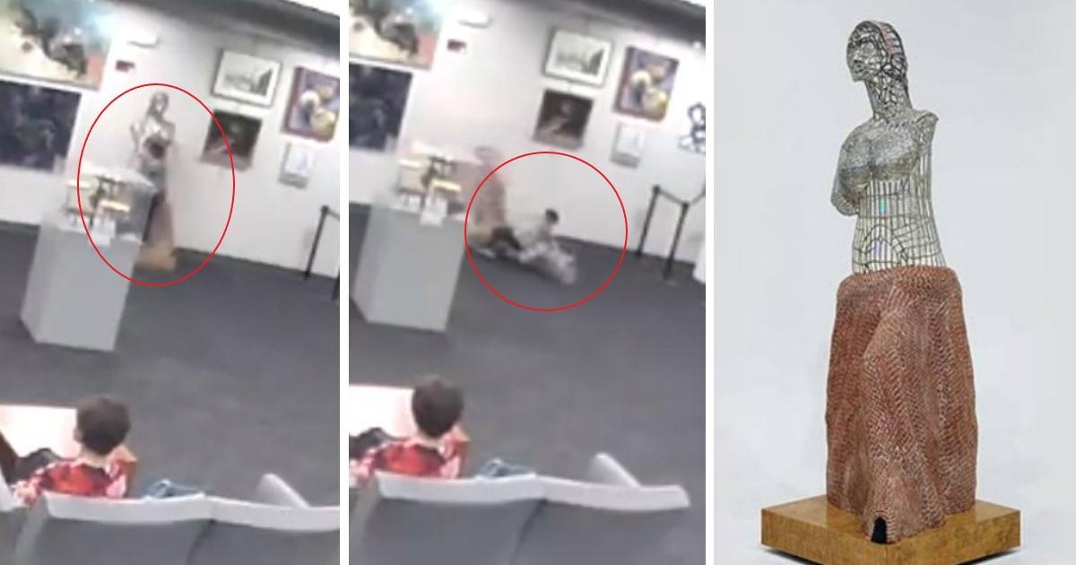 pic copy 3 4 1.jpg - Mãe multada em $ 132.000 por escultura destruída por seu filho se recusa a pagar e se exime de culpa