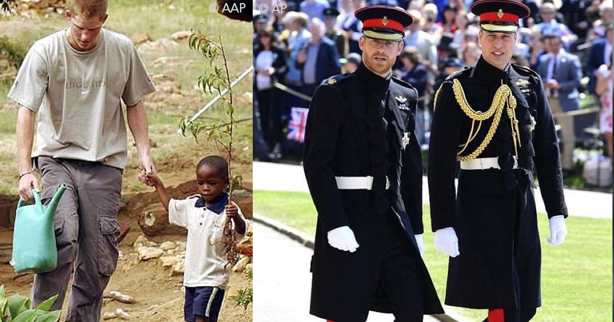 untitled 1 8.jpg - Harry conheceu esse jovem quando tinha apenas 4 anos e vê-lo em seu casamento foi algo que definitivamente o emocionou