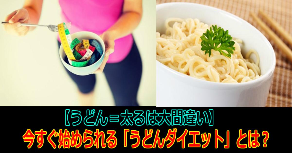 2 91.jpg - 【うどん=太るは大間違い】実はとっても低カロリー?!今すぐ始められる「うどんダイエット」について