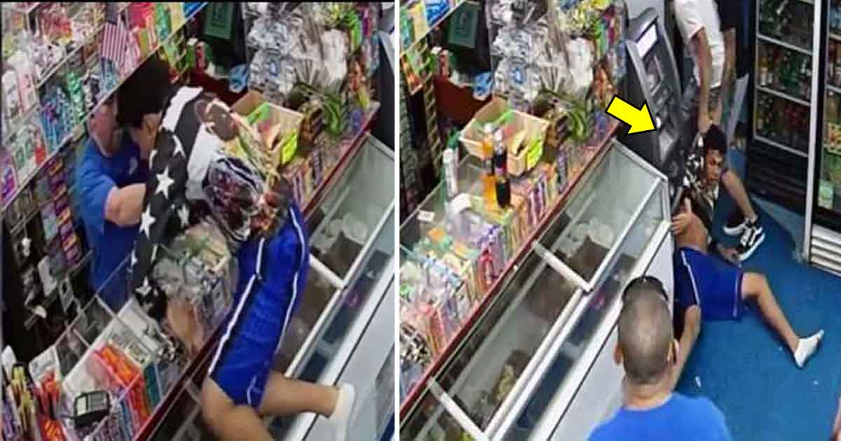 adf.jpg - New Surveillance Footage Shows Bronx Bodega Owner Trying To Save Teen From Gang Members