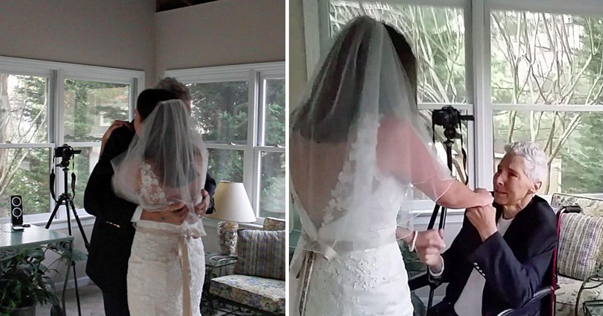 afa 1.jpg - Daughter Arranged Emotional Wedding Dance With Her Father After Being Told He Would Die Before She Could Get Married