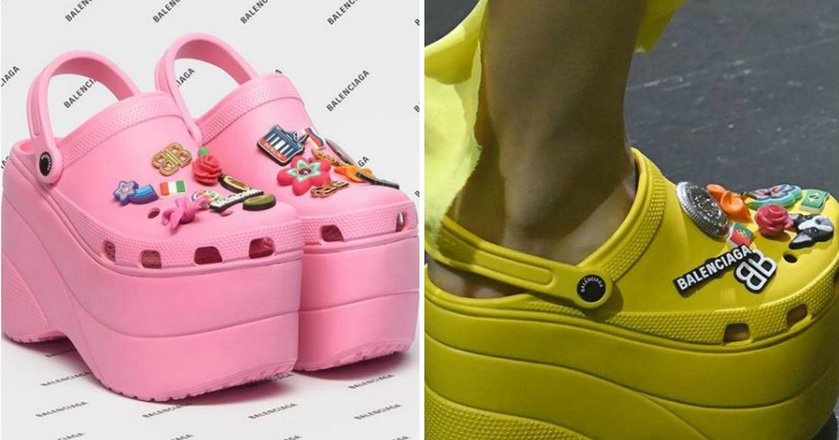 differently latest shades of Ces Crocs à talons hauts sont la dernière tendance mode ...