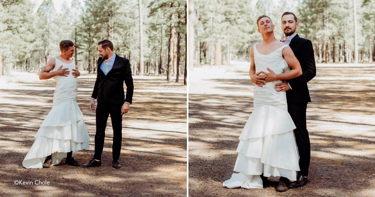 """boda.jpg - Noiva envia seu irmão para """"foto de teste"""" em vez dela, e a reação do noivo é impagável"""
