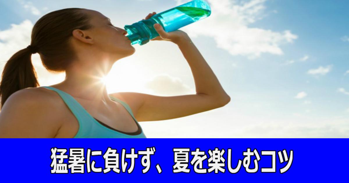 2 55.jpg - 【知っておきたい】猛暑に負けない!夏を楽しむ秘訣とは?