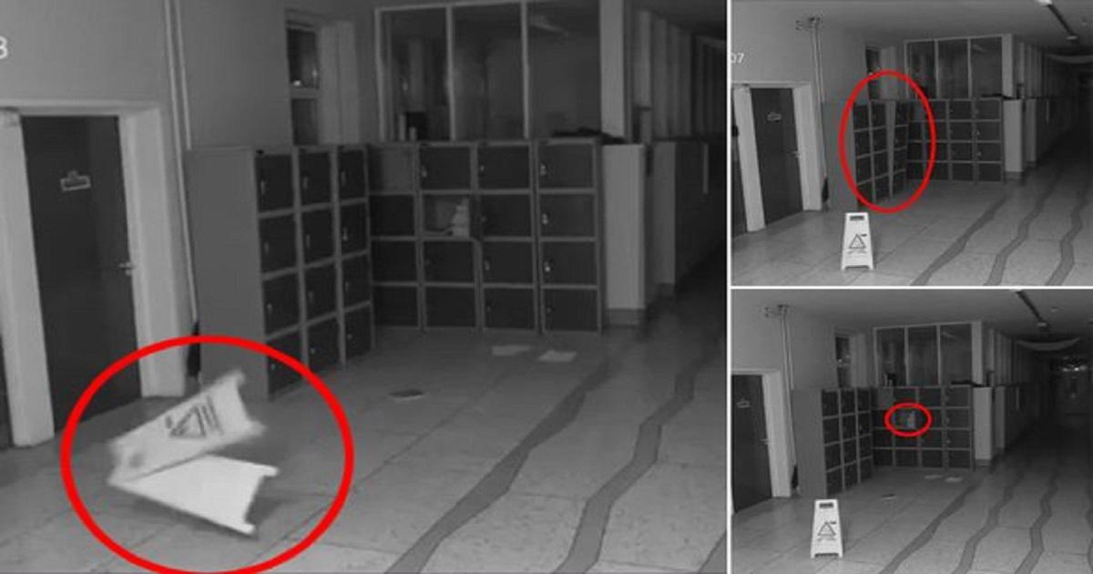 a 7.jpg - Câmera de segurança de uma escola captura imagem aterrorizante de atividade paranormal no corredor durante a madrugada
