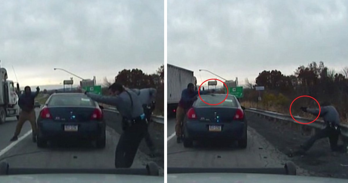 featured image 36.jpg - Fight Between Cops And Man Pulled Over For Speeding Went Viral