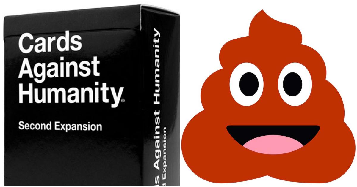poo jokes.jpg - ''Cartas Contra a Humanidade'' oferece pagar US$40 por hora para quem escrever piadas sujas sobre cocô