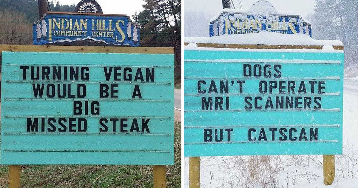 puns jokes.jpg - 20 cartazes de rua muito engraçados que vão fazer você chorar de rir