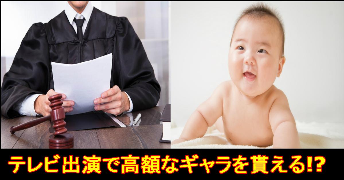 unnamed file 45.jpg - 【赤ちゃん・動物・元裁判官】芸能人よりも高額なギャラが発生!?