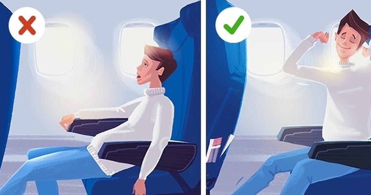 1 242.jpg - 12 Secretos para tener un viaje en avión confortable