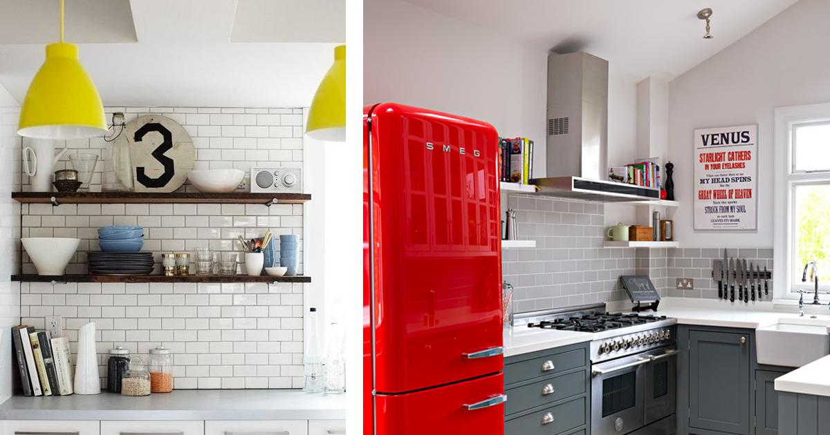 4 170.jpg - 20 Pruebas de que un detalle colorido en el interior de la cocina lo decide todo