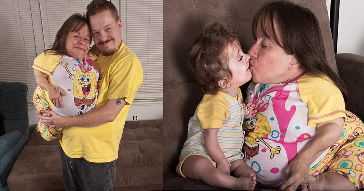 bgs.jpg - Stacey Herald, a menor mãe do mundo, faleceu depois de viver uma bela vida