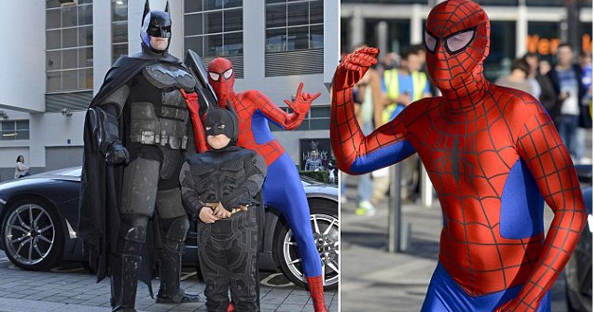 bnbn 1.jpg - Interesante dúo de padre e hijo hacen actividades como superhéroes