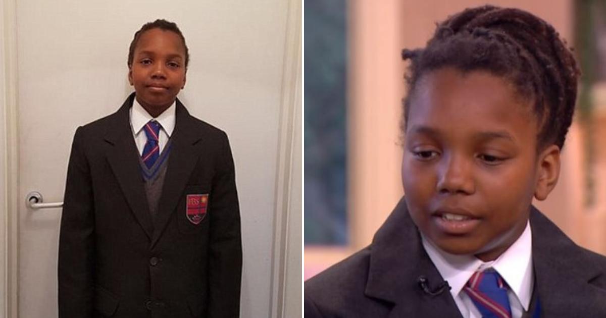 boy5.png - Menino de 12 anos vence processo de discriminação racial contra a escola que queria que ele cortasse seus dreadlocks