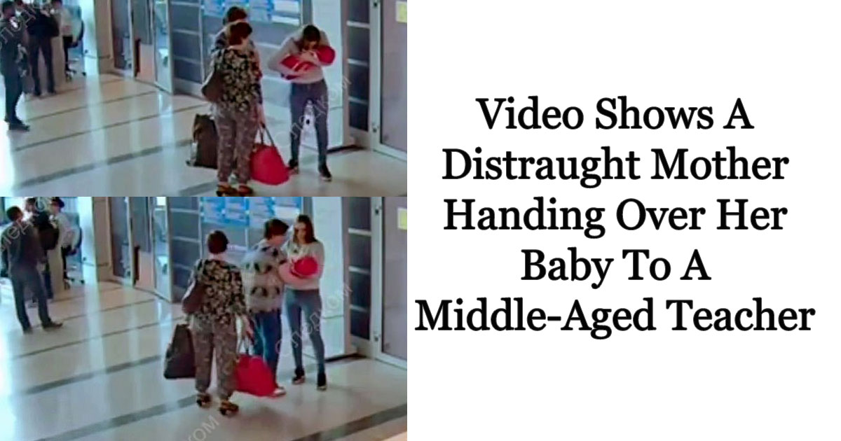 child trafficking.jpg - CCTV Footage Shows A Mother Handing Over Her Newborn To A Teacher For £34 As She Was Unable To Raise Her
