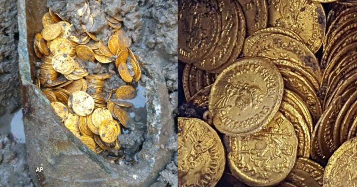 cover22 18.png - Foram encontradas centenas de moedas de ouro do Império Romano enterradas sob um teatro