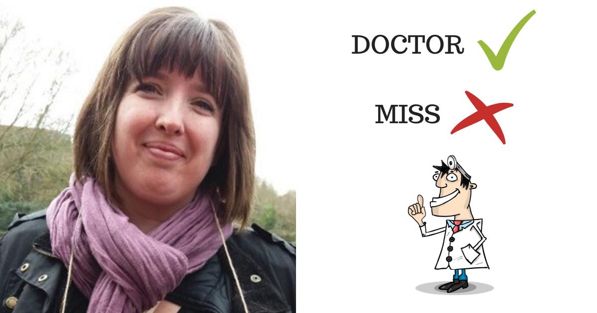 doctormiss 1.png - Mulher desabafa no Twitter depois de ser chamada de ''Senhorita'' ao invés de ''Doutora'' pela companhia aérea
