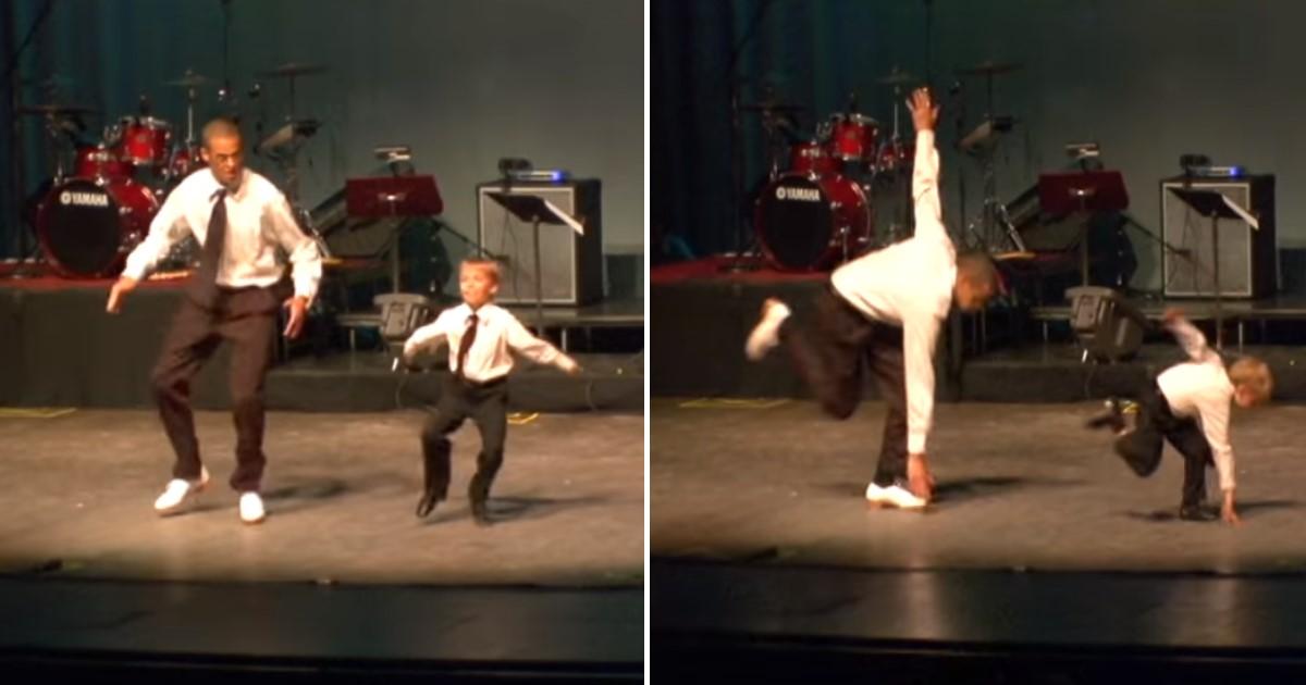 featured image 39.jpg - Show de sapateado: prodígio de 6 anos de idade dança com dançarino experiente em momento inesquecível