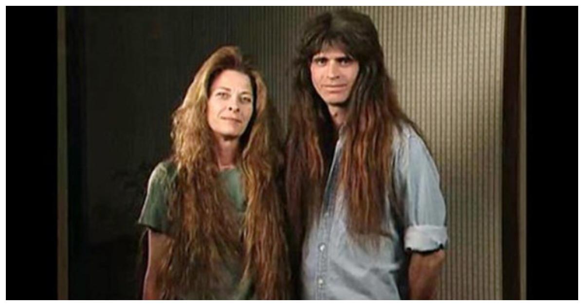 makeover 12.jpg - Casal corta cabelo após uma década e sua reação diante do resultado é documentada