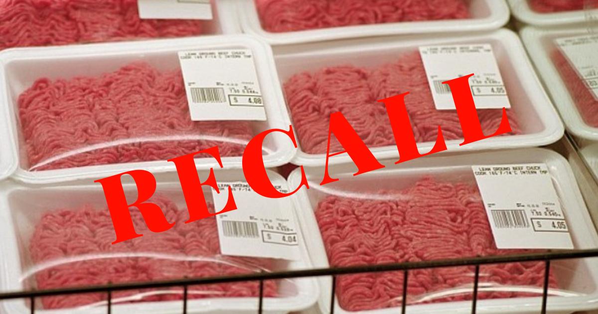 recall.png - Um morto e 17 infectados com E. coli de carne moída embalada! Empresas americanas alertam que se trata de uma questão de saúde pública