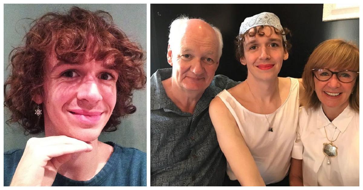 trans.jpg - Colin Mochrie critica duramente haters que atacaram pela Internet a sua filha transgênero no dia do seu aniversário