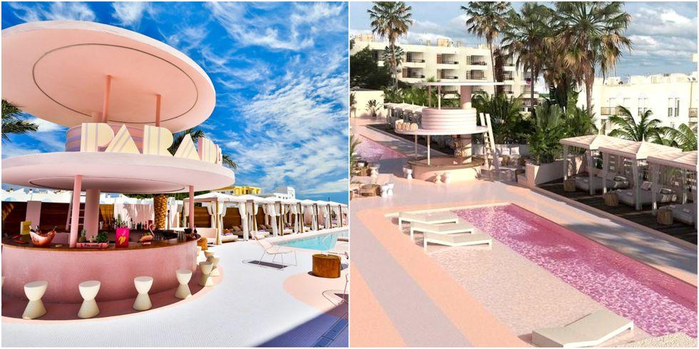 untitled collage 1535097919.jpg - 粉紅香檳泳池太夢幻!歡迎光臨西班牙前衛飯店,根本是粉色控天堂~