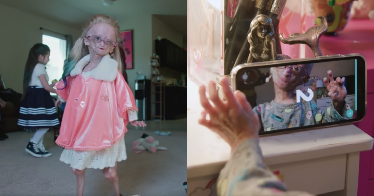 vonvone5b081e99da2 01 7.png - 11歲女孩罹患罕見疾病「早衰症」,仍活出像公主一樣、超級網紅的幸福人生