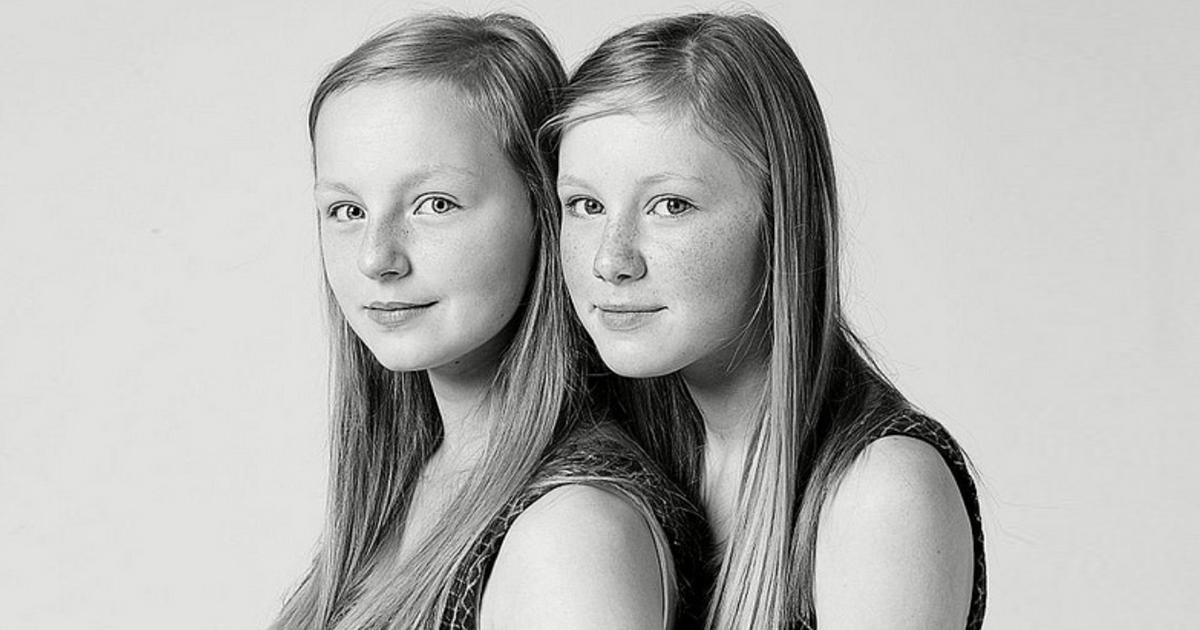 1 23.jpg - Gemelos que no tienen vínculos familiares: ¿es posible? Un fotógrafo canadiense asegura que sí