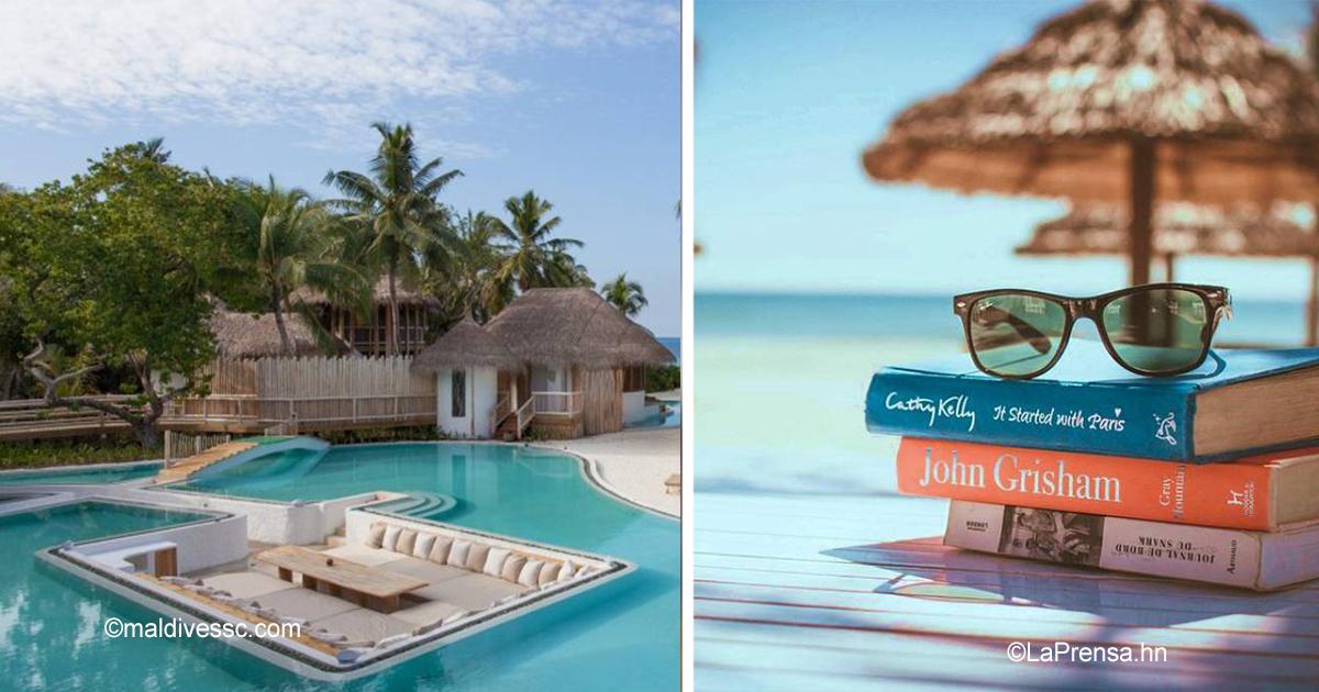 12 41.jpg - El trabajo perfecto sí existe: un hotel lujoso en las Maldivas está contratando personal para trabajar en bibliotecas