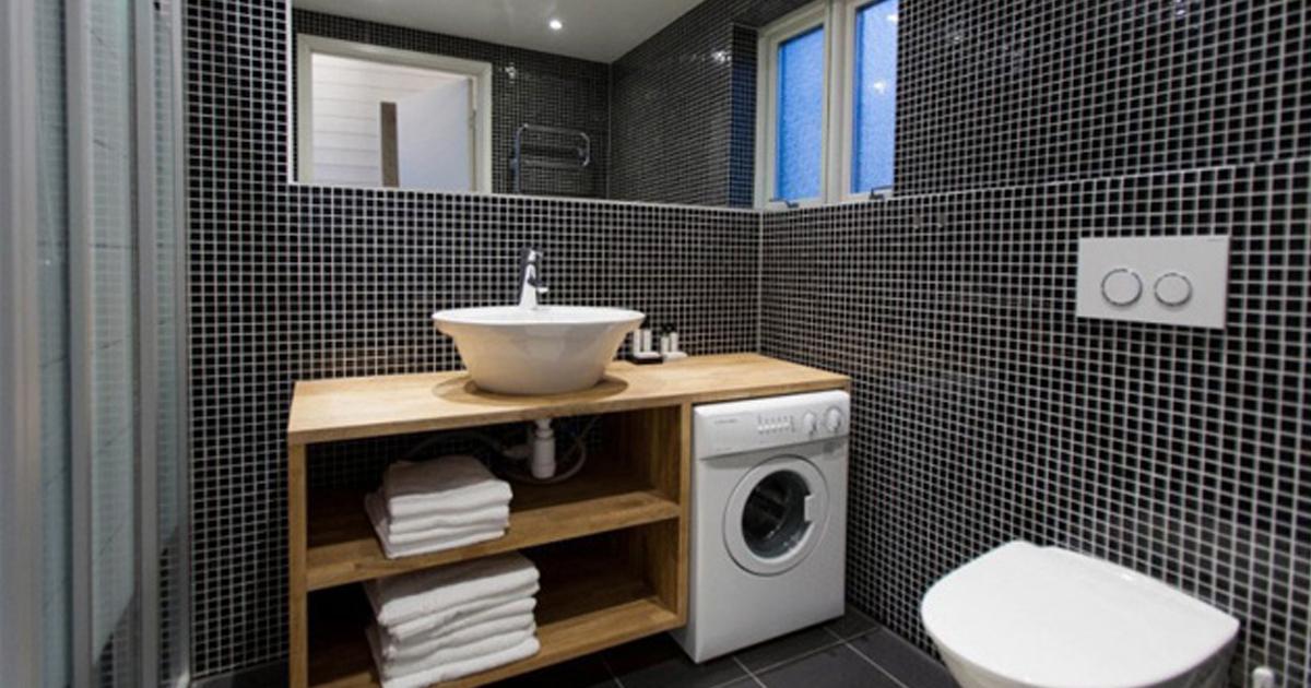 banospequenos.jpg - 12 Soluciones de diseño para convertir un baño pequeño en uno espacioso