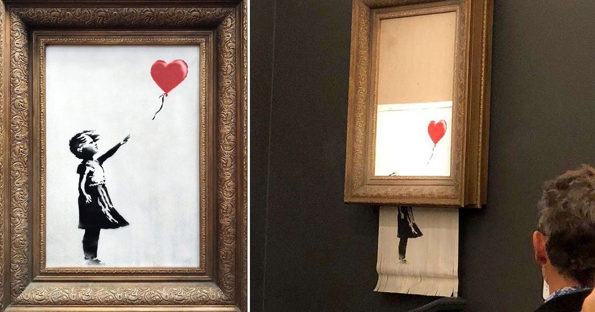 bensky.jpg - Banksy revela como construiu dispositivo de autodestruição dentro de sua peça icônica para impedir de vende-la em leilão
