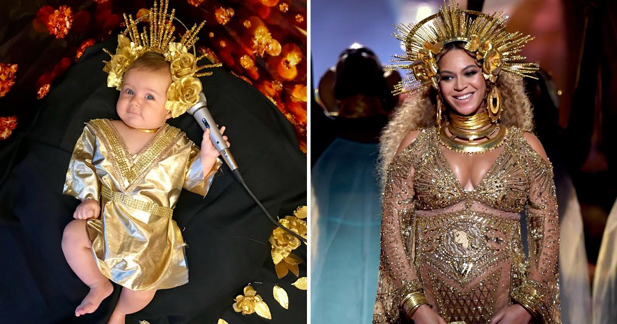 capa2k.png - Mãe homenageia ícones femininos vestindo sua bebê igual a elas e o resultado é muito FOFO!