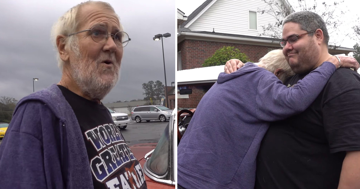 gag 1.jpg - Angry Grandpa Got His Beloved Car Back Several Years After It Was Sold By His Sister And Her Boyfriend