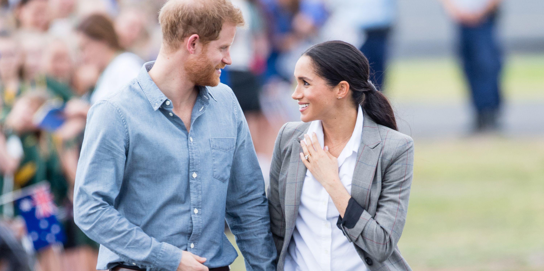 hbz prince harry meghan markle 1052321920.jpg - Vídeo super FOFO mostra príncipe Harry falando sobre a gravidez de Meghan pela primeira vez