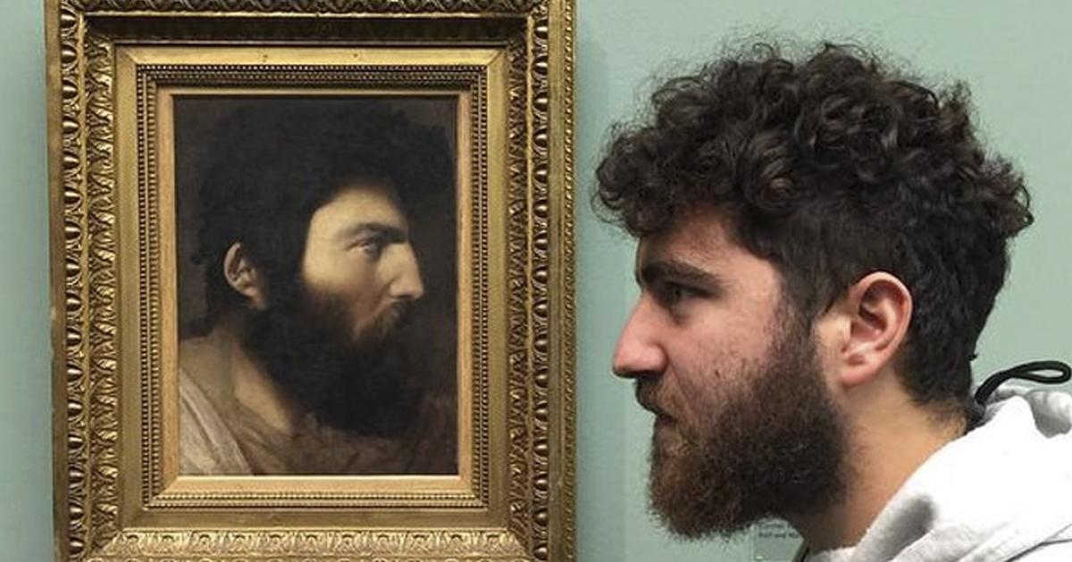museos.jpg - 15 Sorprendentes coincidencias entre los visitantes de los museos y las exhibiciones de los mismos