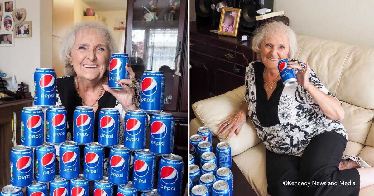 pepesi.jpg - Esta abuela dice que no ha bebido nada más que Pepsi desde 1954