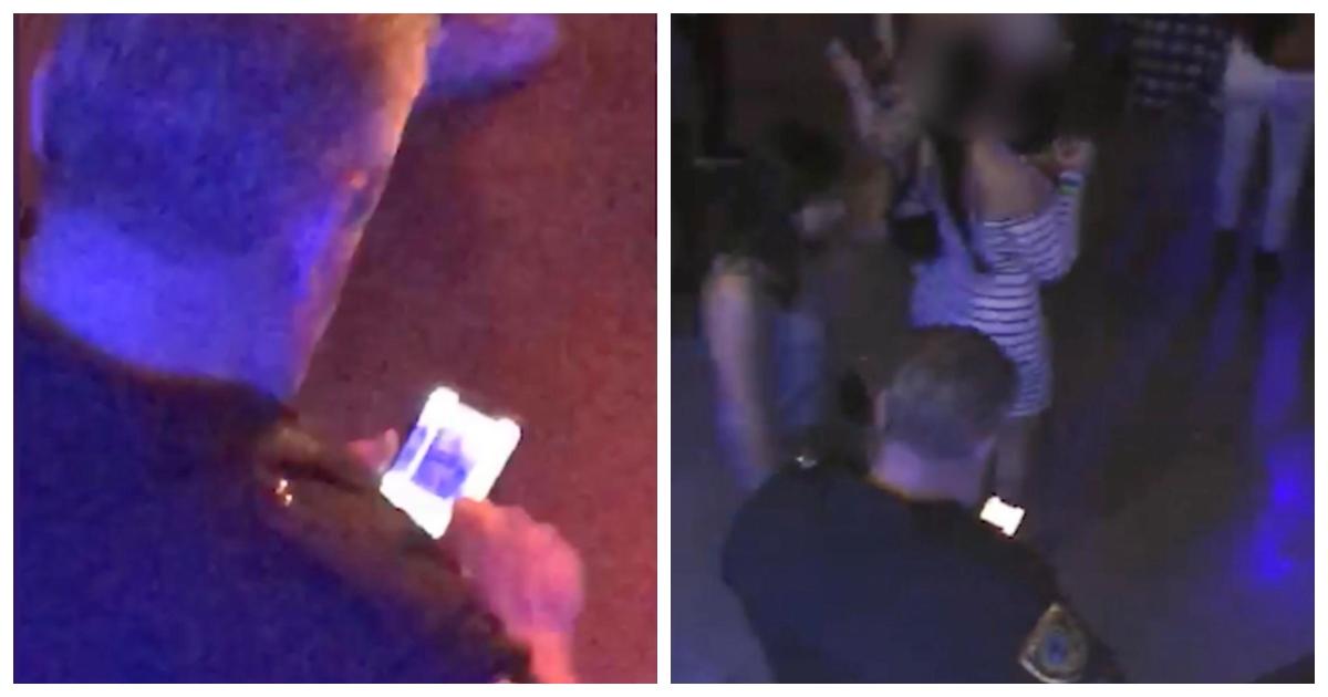 phone 3.jpg - Un officier de police en uniforme surpris en train de prendre des photos des fesses d'une femme avant de les partager avec d'autres
