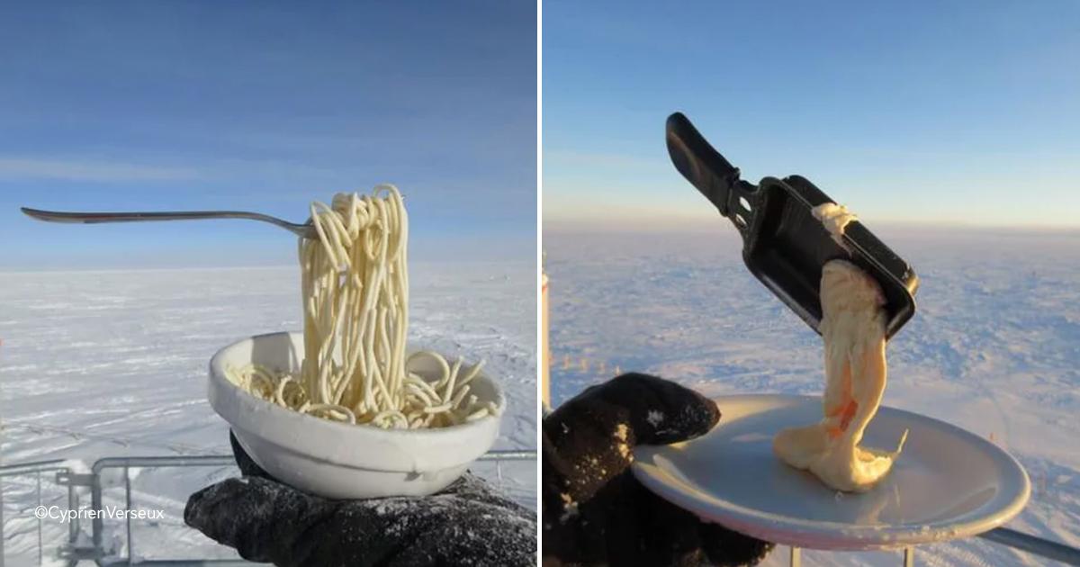 sapaguuere.jpg - ¿Qué sucede cuando intentas cocinar una comida caliente en la Antártida?