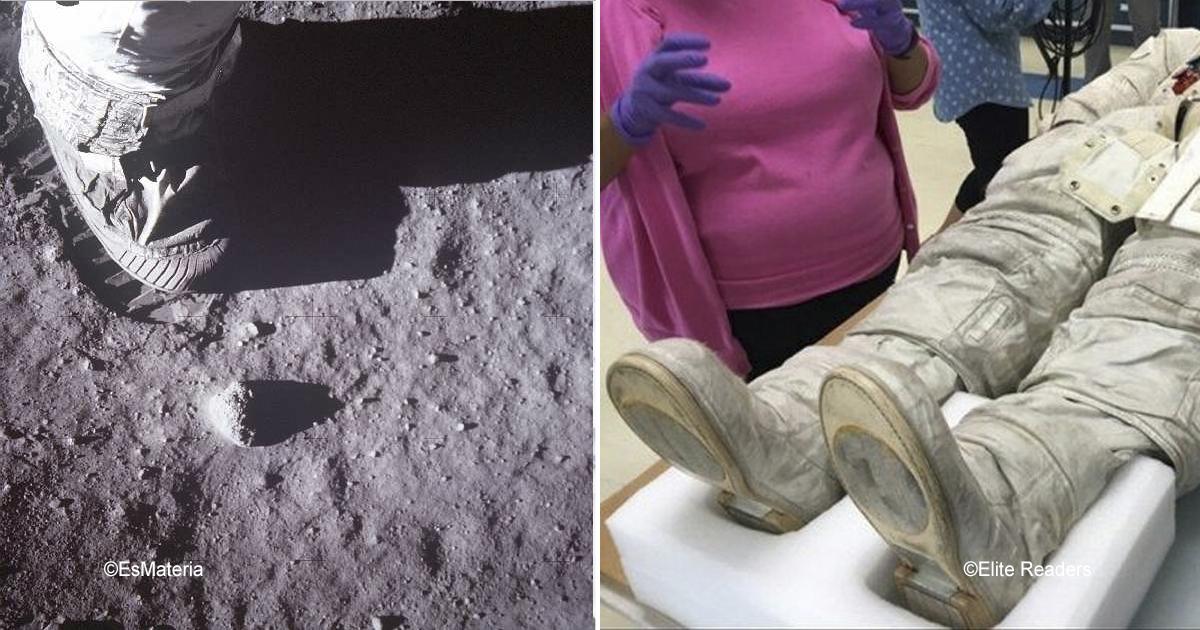 sin titulo 1 36.jpg - Un usuario causó polémica al descubrir que las huellas en la luna no coinciden con las botas de  Neil Armstrong